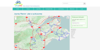 Cycle Fife journey planner